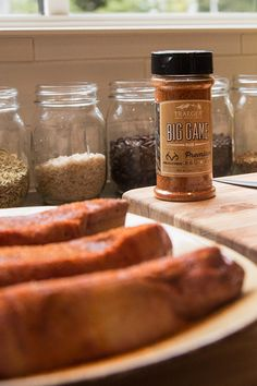 We've set our sights with Realtree to create a new blend of spices specifically for enhancing big game meat. Our Big Game Rub is a delicious way to share your enthusiasm for the outdoors with family and friends. From moose and elk, to duck or bison, the warm chili peppers, garlic, all-natural sugar, and pepper will add a full-bodied flavor to the natural character of big game protein. Your big game deserves a big blend of flavor, get a bottle.