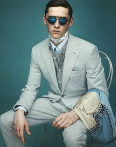 Anders Hayward by Scott Trindle for The Sunday Telegraph