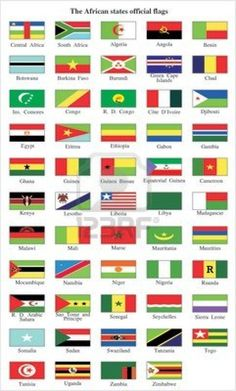 Kids can make flags from different countries for our Cross Curricular project on Africa