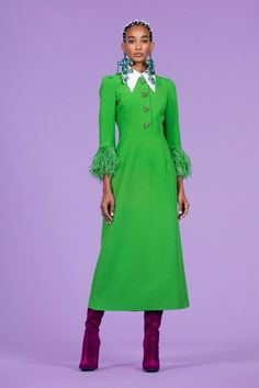 Andrew Gn Pre-Fall 2020 Collection - Vogue are 2020 Fashion Trends, Fashion Week, Fashion 2020, High Fashion, Fashion Show, Womens Fashion, Fashion Design, Fall Dresses, Pretty Dresses