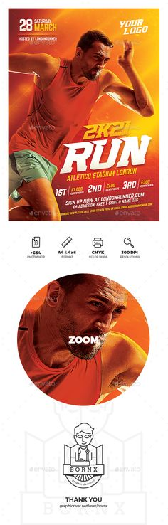 Run sport flyer template for Photoshop with A4 & 4x6 flyer format. Available now on GraphicRiver. #graphicriver #flyer #poster #template #adobe #photoshop #graphic #design #banner #ads #sport #run #running #sprint #runner #marathon #athletic #olympics #athlete