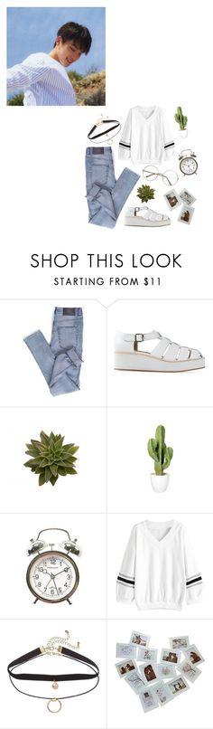"""""""you got the best of me"""" by itstepna ❤ liked on Polyvore featuring Cheap Monday, Jeffrey Campbell, kpop, seventeen and polyvorefashion"""