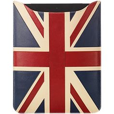 Aspinal of London Brit iPad Sleeve, Multi ($190) ❤ liked on Polyvore featuring accessories, tech accessories and aspinal of london