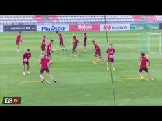Training of Atletico madrid - YouTube