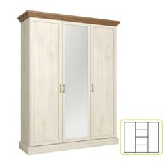 Royal gardróbszekrény Armoire, Tall Cabinet Storage, Metal, Furniture, Design, Home Decor, Products, House, Clothes Stand