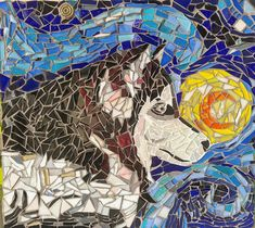 Terminada ! #savi #vitromosaicos #husky #siverianhusky #huskysiberiano #mosaicart #mosaico #mosaicos #vitromosaico #artdog #dogart #huskyart #manizales #ejecafetero #caldas #colombia #decoracion #deco
