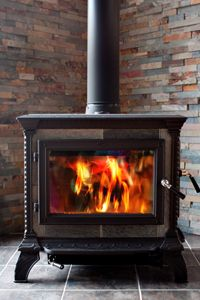 Wood heat vs pellet stove what s the prevent soot build up on wood stove gl what are the three ses of creosote how to clean a cast iron stove. Wood Stove Surround, Wood Stove Hearth, Stove Fireplace, Wood Burner, Fireplace Ideas, Wood Fireplace, Foyers, Burnt Offerings, Into The Woods