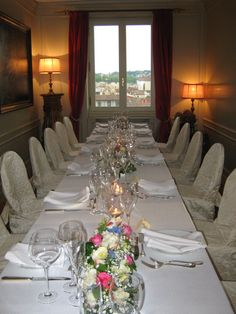Florence tower Florence, Table Settings, Rook, Place Settings, Florence Italy, Tablescapes