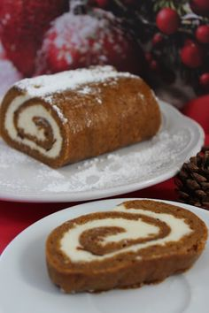 Looking for a yummy fall treat? Then check out this pumpkin roll recipe. It's a fantastic fall treat and a great addition to Thanksgiving dinner as well.