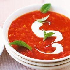 Bei dieser cremigen Suppe mit Minze werden sogar die Erwachsenen schwach ...