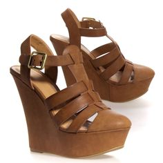 Love these closed toe wedges
