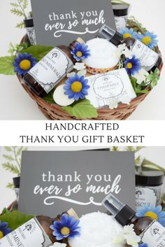All Natural Thank You Gift Basket   MADE FROM 100% NATURAL INGREDIENTS: Our Products are never tested on animals and are Free of Petroleum, Parabens, Synthetic Fragrances, Parfums, Botanical Parfums, Artificial Colors, Formaldehyde or Sodium Lauryl Sulfate!
