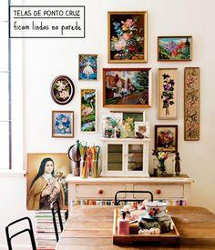 E se a coleção for de paninhos? - dcoracao.com - blog de decoração