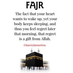 So don't feel bad if you have not wake up for fajr namaz. Allah Quotes, Muslim Quotes, Quran Quotes, Religious Quotes, Hadith Quotes, Allah Islam, Islam Muslim, Islam Quran, Beautiful Islamic Quotes