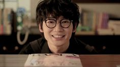 "Ayano Go - I can't believe he can be this cute, after I watched him play as Soga Iori who act like ""I hate everyone fuck you"" LOL I Hate Everyone, A Good Man, Movie Stars, Actors & Actresses, Singer, Album, Glasses, Youtube, Boys"