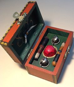Harry Potter Miniature Quidditch Trunk