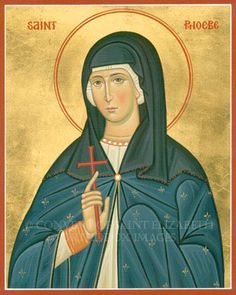 Saint Phoebe  In St Paul's Letter to the Romans( 16:1-20) He refers to Phoebe as a deacon. Many translate this as being the same as the later female leaders of the Early Church called Deaconess who had a subordinate role to their male counter parts but in Romans its self there is not any such difference she is called a deacon(diakonos) the same title Paul refers to himself & other male Deacons.Its clear that the women  leaders were equal to the men in the early Christian movement