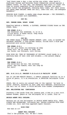 best movie script