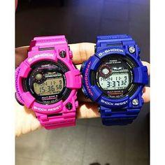 G-SHOCK FROGMAN GWF-1000SR-4 vs GWF-1000NV G Shock Watches, Casio G Shock, G Shock Frogman, Watch Master, Sport, Brand Name Watches, Wristwatches, Deporte, Sports