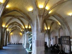Vianden Castle Inside | , Vianden Castle, Old Town, Vianden, Luxembourg The medieval interior ...
