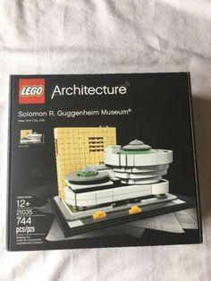 LEGO ARCHITECTURE Solomon R. Guggenheim Museum (21035) NIB