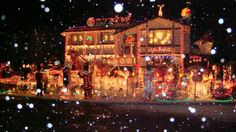 House decorated for Christmas - Home Exterior Designs - Decorating Ideas - HGTV Rate My Space