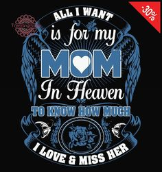 Mom I Miss You, Love You Mom, Mothers Love, My Love, Missing You Brother, Mother Daughter Quotes, Mother Quotes, Loved One In Heaven, Attitude