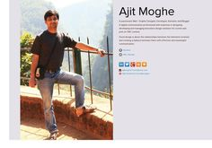 Ajit Moghe's page on about.me – http://about.me/ajitmoghe