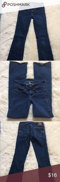 """AE Super Stretch Artist Jeans Perfect condition!!  Inseam is 29"""" American Eagle Outfitters Jeans"""