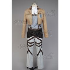 Attack on Titan Shingeki no Kyojin Scouting Legion Rivaille Cosplay Costume