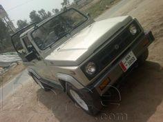 suzuki Jeep 4x4 Ganian long chassis - Multan
