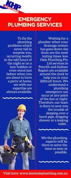 To fix the plumbing problems which never fail to surprise you, occurring mostly in the odd hours of the night or on a lazy holiday or even worst just before when you are about to have a party at home, we with our expertise are always available. Leaking Pipe, Plumbing Emergency, Plumbing Problems, All Year Round, Lazy, How To Find Out, Night, Holiday, Vacations