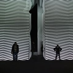 Visitors Interact with Chicago's Mind-Bending Light Projections - My Modern Metropolis