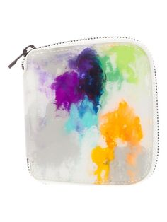 watercolor pouch - so cool!