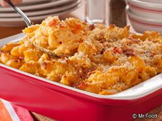 Bacon Buffalo Mac and Cheese from @Ally Billhorn - Finalist in Ultimate Weeknight Meal Contest