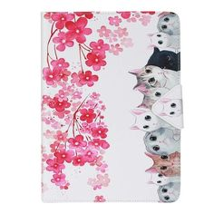 5d637fb8790 A group of cats pattern Leather Flip Case for Apple iPad air1 2 iPad mini 2