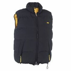 Caterpillar Black Quilted Insulated Bodywarmer (Medium) - Mens Caterpillar Quilted Insulated Vest Jacket - Black - Medium Keep your core warm with our classic quilted insulated vest. Made of micro-peached polyester. Cat Workwear, Sweatshirt Homme, Industrial Workwear, Parka, Heavy Jacket, Body Warmer, Outdoor Woman, Rain Wear, Outdoor Outfit