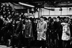 Rush Hour in Japan