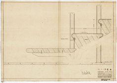 section through main stairway | Villa Mairea | Noormarkku, Finland | Alvar Aalto 1938-39