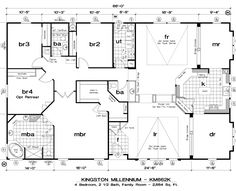 If you are going to build a barndominium, you need to design it first. And these finest barndominium floor plans are terrific concepts to begin with. Jump this is a popular article Custom Barndominium Floor Plans Pole Barn Homes Awesome. Barn House Plans, Dream House Plans, House Floor Plans, Barn Plans, Triple Wide Mobile Homes, Modern Mobile Homes, Double Wide Home, The Plan, How To Plan