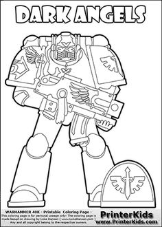 Colouring page with an amazing combination of barbarian