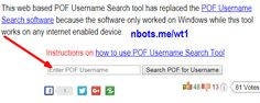 Username Search, Search Tool, Software, Internet, Tools, Instruments, Appliance, Utensils