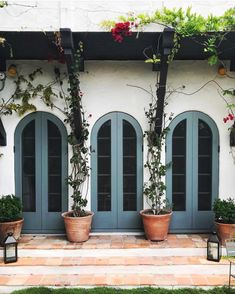 doors spanish door exterior arched revival shutters colors tuscan colonial paint