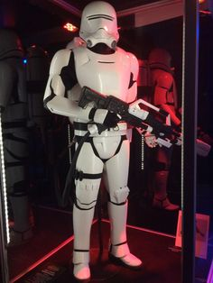 First Order Flametrooper from Star Wars Episode VII The Force Awakens