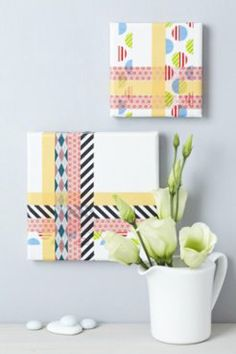 Washi tape, idee facili per decorare la casa e non solo
