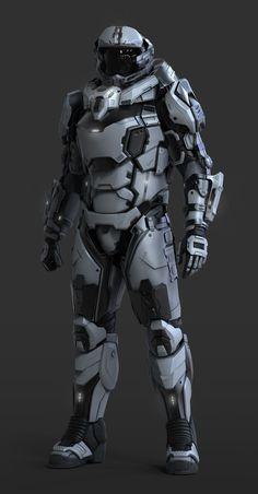 UEE Heavy Marine - Character done for Cloud Imperium Games. Done in Zbrush and Keyshot. Concept by Jeremiah Lee and Rob McKinnon Combat Armor, Military Armor, Futuristic Armour, Futuristic Art, Futuristic Helmet, Robot Concept Art, Armor Concept, Space Armor, Armadura Cosplay