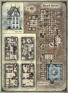 Curse of Strahd; Death House (Digital DM & Player Versions) Free!