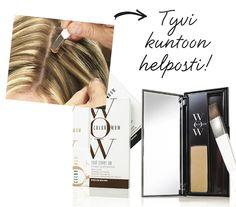 Uusi Color Wow Root Cover Up -tyviväripuuteri peittää tyvikasvun tai harmaat nopeasti ja ilman sotkua. Color Wow sisältää väriä heijastavia pigmenttejä, jolloin lopputulos on luonnollinen. Color Wow, Shampoo, Hair, Strengthen Hair