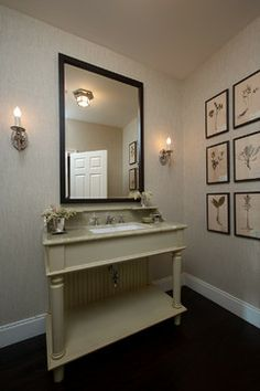 Powder Room Vanity Design Ideas, Pictures, Remodel, and Decor - page 17