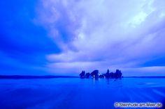 Die blaue Insel - Insel Wilhelmstein im Steinhuder Meer